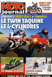 MOTO-JOURNAL-1747-YAMAHA-R1-XTX-XTR-660-DUCATI-1098-S-KAWASAKI-ER-6-Troy-BAYLISS