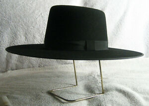 8a52dfabb024b Custom Made Spanish Bolero Gaucho Zorro Style LEE VAN CLEEF HAT Wool ...