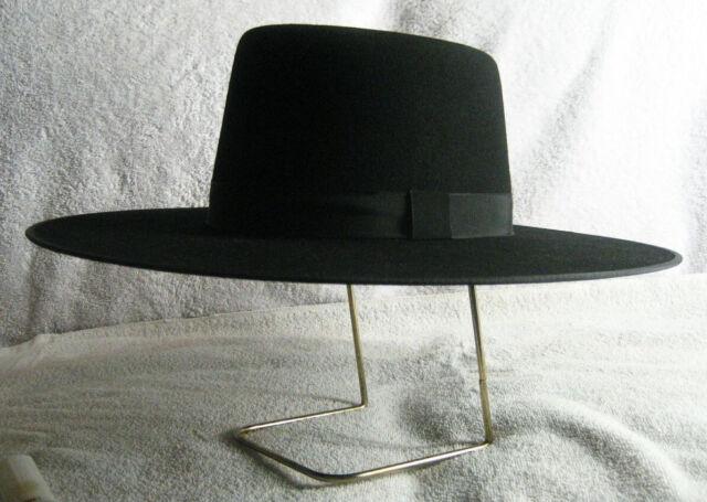 Custom Made Spanish Bolero Gaucho Zorro Style LEE VAN CLEEF HAT Wool or Fur Felt