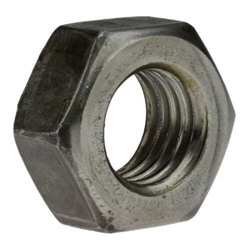 Stahl Klasse 8 geschwärzt Feingewinde M 30 x 1,5 DIN 934 Sechskantmutter