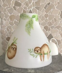 Hängelampe Deckenlampe Kinderzimmer Kinder Baby Faultier Dschungel ...