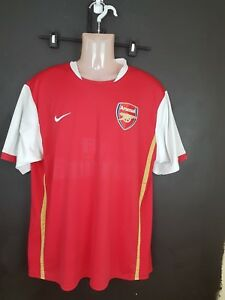 5972f3d04 Arsenal Nike Home shirt medium  2006 08 classic london jersey ...