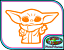 Baby Yoda C Star Wars Jedi Wall Poster Art Vinyl Sticker Laptop Car Bike Decal