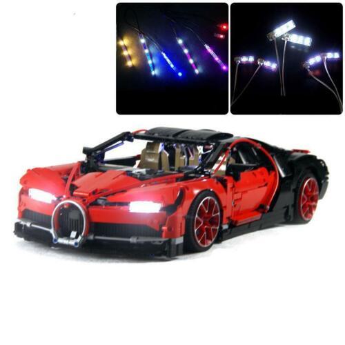 LED Light Lighting Kit Set For LEGO 20086 Bugatti Chiron Technic Race Car Bricks