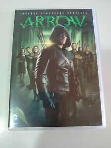 Arrow-Segunda-Temporada-Completa-DC-Comics-5-x-DVD-Espanol-Ingles