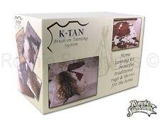 K-Tan Home Deer Rabbit Animal Fur Skin Home Tanning Kit for Washable Skins