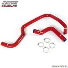 Red Silicone Radiator Hose Kit Fit For 2007 2013 Chevrolet Silverado 1500 Fits Chevrolet