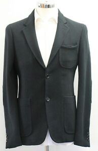 WunderschöNen Men's Casual Black Blazer Sample 2930 . 38r