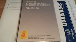 1984-LIBRO-OFICIAL-DE-CORREOS-ESPANA-COMPLETO-OFERTA-UNICA-DIF-CIL-CONSEGUIR