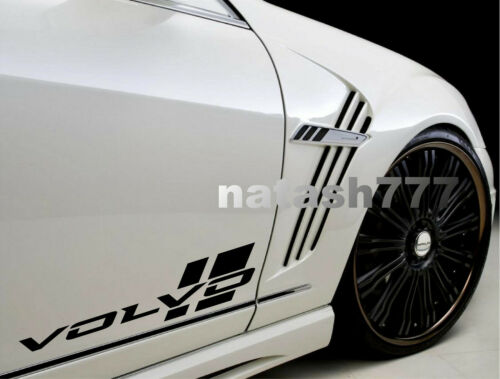 VOLVO Sport Racing Performance Car Vinyl Decal Sticker Emblem logo 2pcs Pair