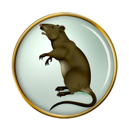 Rat Revers Broche Badge