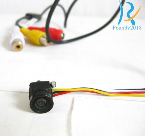 Mini Smallest 800TVL spy hidden 170 degree pinhole nanny HD micro pinhole camera