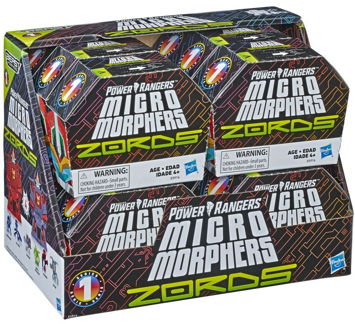 Beast Morphers Micro Morphers ZORDS Mystery Minis Blind Box