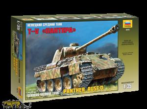 Panzerkampfwagen Panther Ausf. D - 1:35 - Zvezda 3678