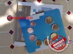 Coffret-BU-1-Cent-a-2-Euro-Saint-Marin-2019-Coffret-Officiel