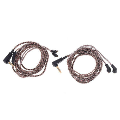 Oxygen-free copper audio earphone upgrade cable cord for kz zs5 zs6 zsr zs1BLIS
