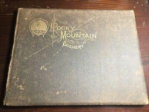Denver / Rocky Mountain Scenery Brief Description of Prominent Places 1888