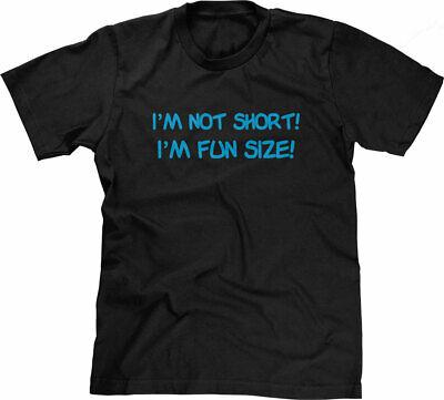 Funny Humor Men/'s Tank Top T-shirt I/'m Not Short I/'m Funsized