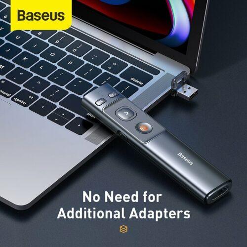 Baseus Presenter Laserpointer USB Typ C Powerpoint Fernbedienung Präsentation