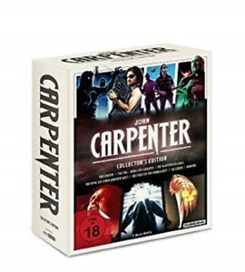 John Carpenter Collector's Edition Blu-ray NEU OVP 7 Filme u.a. Sie leben