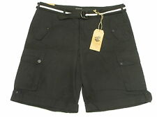 $68 NWT Mens Rocawear Belted Blueprint 2 Ripstop Cargo Shorts Urban Size 40 M775