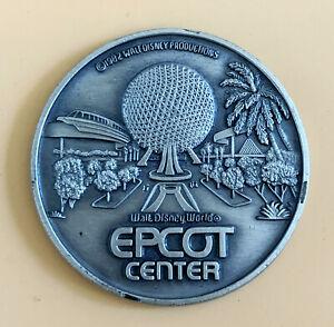 Disney-EPCOT-Center-Opening-Year-1982-Souvenir-Coin-Medallion