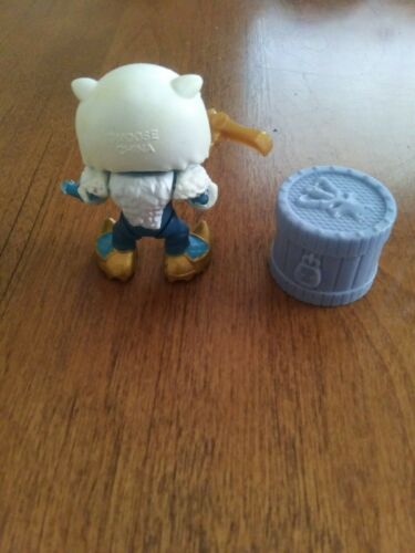 Treasure X dragons gold rare crystal arctic plundered gold shiver FIGURE