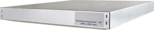 Heizkesselpodest Kesselplatte Kesselboden Standplatte Kessel diverse Größen