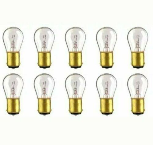 23.04 W BA15d Base S-8 shape CEC Industries #1076 Bulbs 12.8 V Box of 10 *S2
