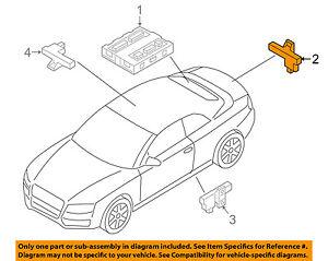 Details about AUDI OEM 09-17 Q5 Keyless Entry-Antenna 8K0907247