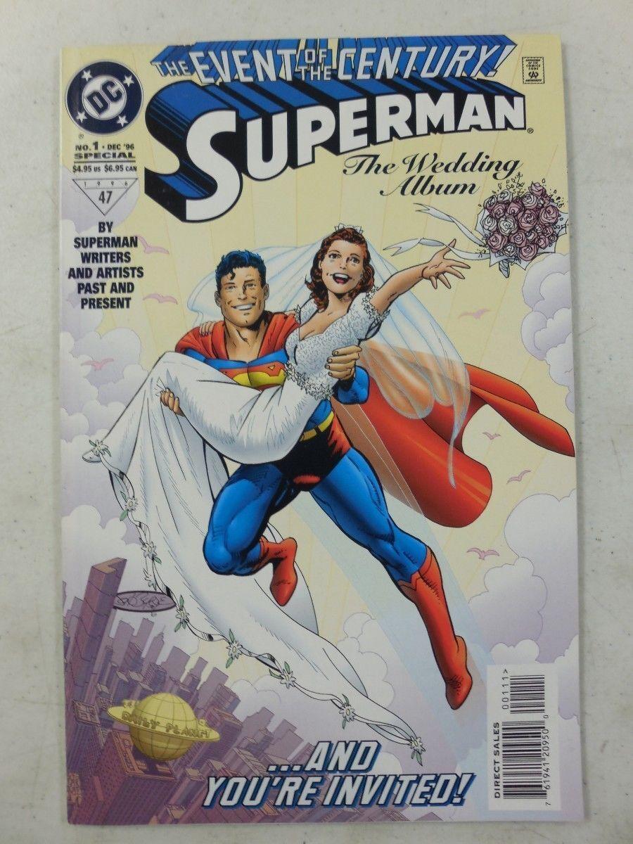 1996 DC SUPERMAN WEDDING Comic MARRIES LOIS LANE Event of the Century NM/UNREAD