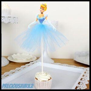 Remarkable Cinderella Cake Topper Party Supplies Birthday Princess Disney Birthday Cards Printable Inklcafe Filternl
