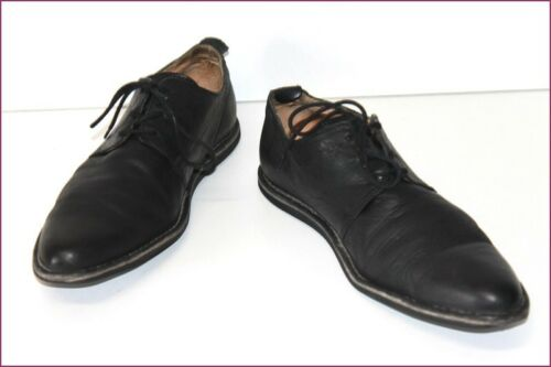 Kickers Derby Shoes Man Black Leather T 41 Be