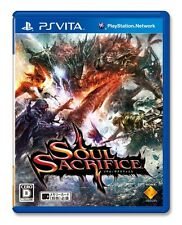 USED PS Vita Soul Sacrifice Sony entertainment