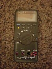 Fluke 87 Digital True Rms Multimeter For Parts Or Repair
