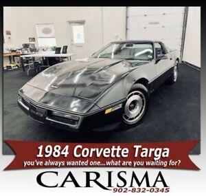 1984 Chevrolet Corvette Targa