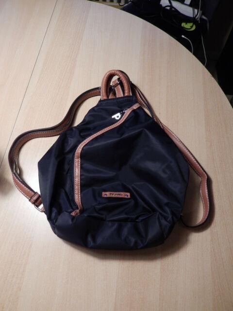 PICARD Sonja Backpack Tasche Freizeitrucksack,neuwertig, Damen Dunkelblau Leicht
