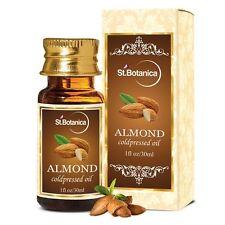 St.Botanica Sweet Almond Coldpressed Carrier Oil, For Hair & Skin 30ml 1 Bottle