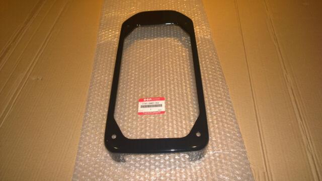 VS 800 INTRUDER New Genuine SUZUKI Black Radiator Shroud Panel 17761-39A01-33J