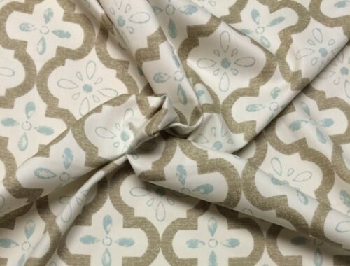 """P KAUFMANN BRAEMORE CONSERVATORY BARK TRELLIS FABRIC BY THE YARD 54/"""" WIDE"""