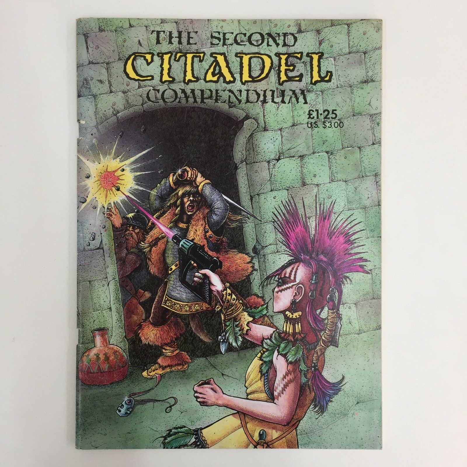 THE SECOND CITADEL COMPENDIUM AN IRREGULAR JOURNAL GAMES WORKSHOP WARHAMMER