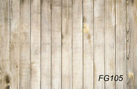 Simple Wood Wall Vinyl Photography Photo Props Background Backdrop 5x3ft Fg105