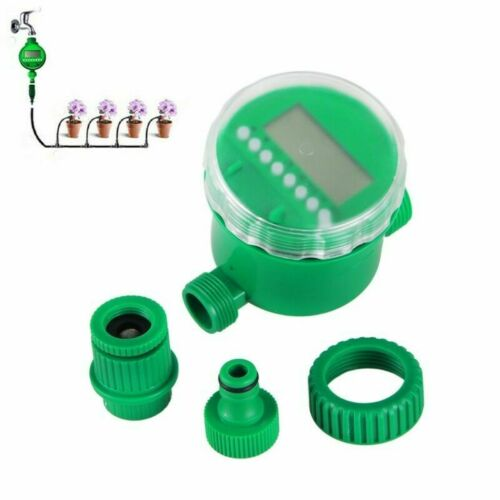 Automatic Micro Drip//Spray Irrigation System Timer Watering Misting 15m 25m DIY
