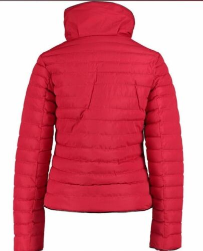 TOKYO LAUNDRY Red Padded Funnel Neck Coat