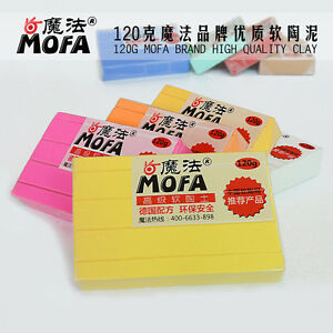41-COLORS-120g-POLYMER-MODELLING-MOULDING-OVEN-BAKE-CLAY-PASTEL-amp