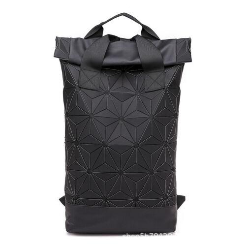 SALEOriginal Rolltop Rucksack Black Bnwt Issey Miyake Diamond Schultertasche DHL