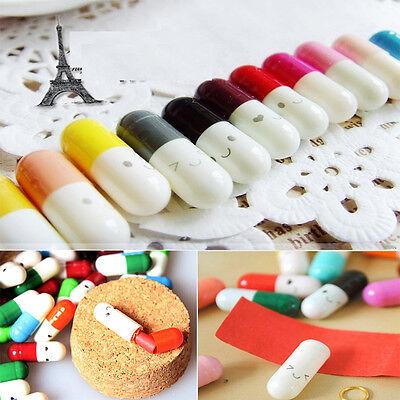 Multiple Colors 50 Pcs Korean Popular Special Love Capsule Cute Message Pills