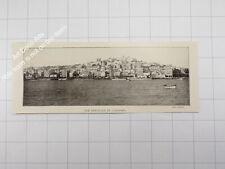 1912 Sardegna , visione generale di Cagliari  - Sardaigne / Sardinia