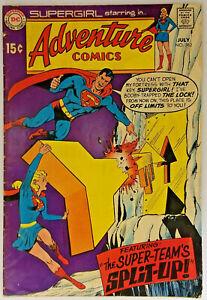 Adventure-Comics-382-VF-7-5-DC-Comics-1969-Superboy-Supergirl-Krypton-Batman