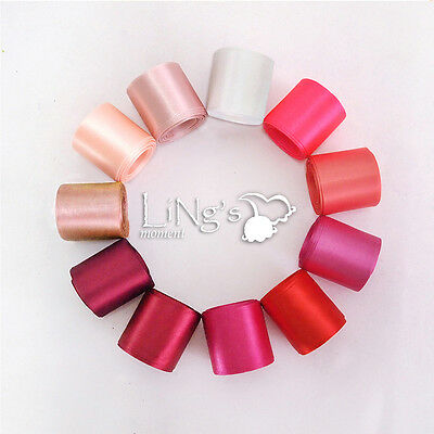 Red Series Multiple-Sizes Satin Ribbon Wedding Party Favor Decoration Bow Gift